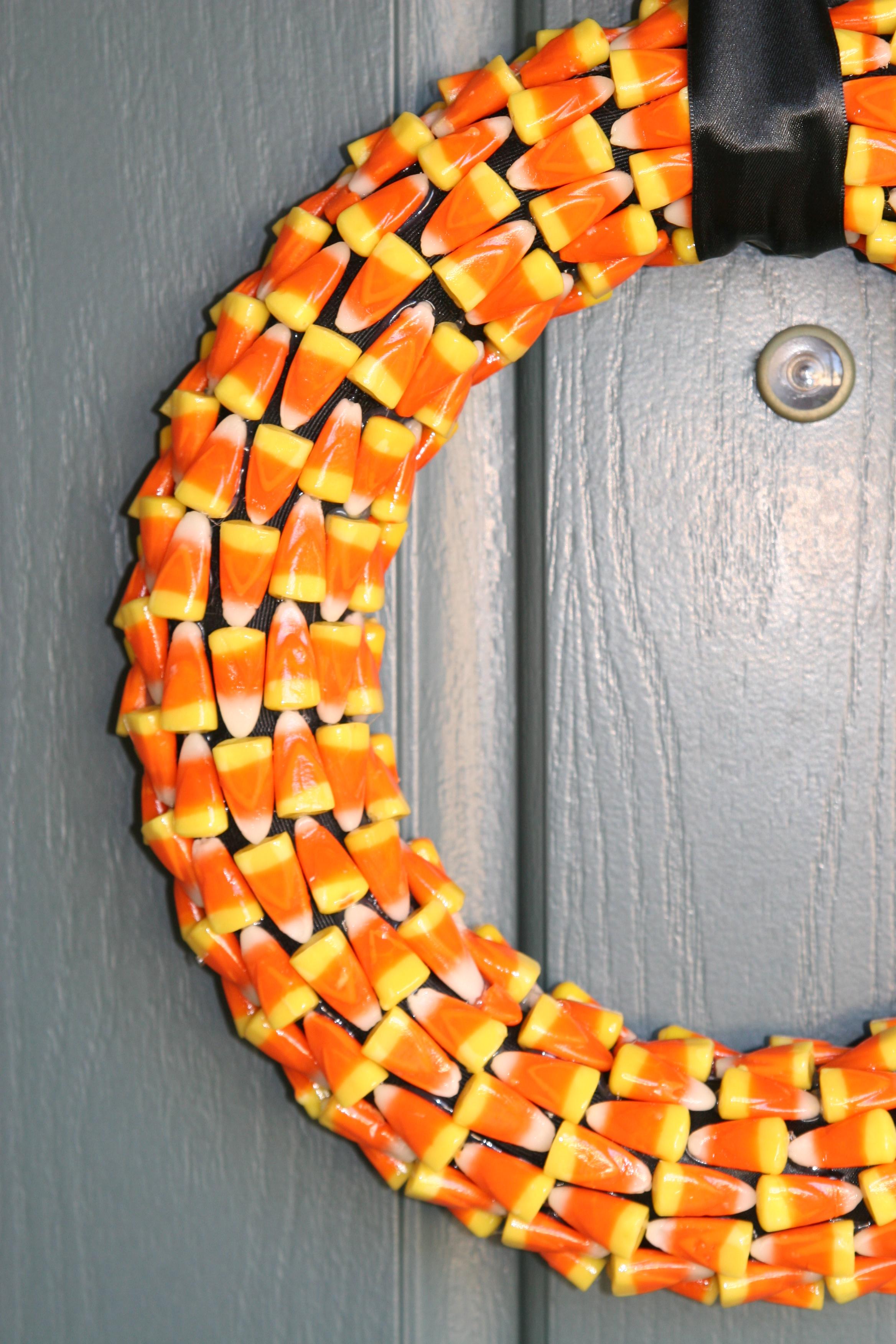 4 - Halloween Candy Wreath